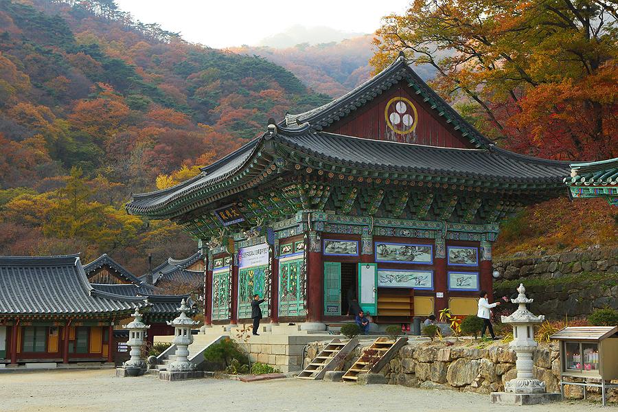 龍門寺內寺院寄的外觀