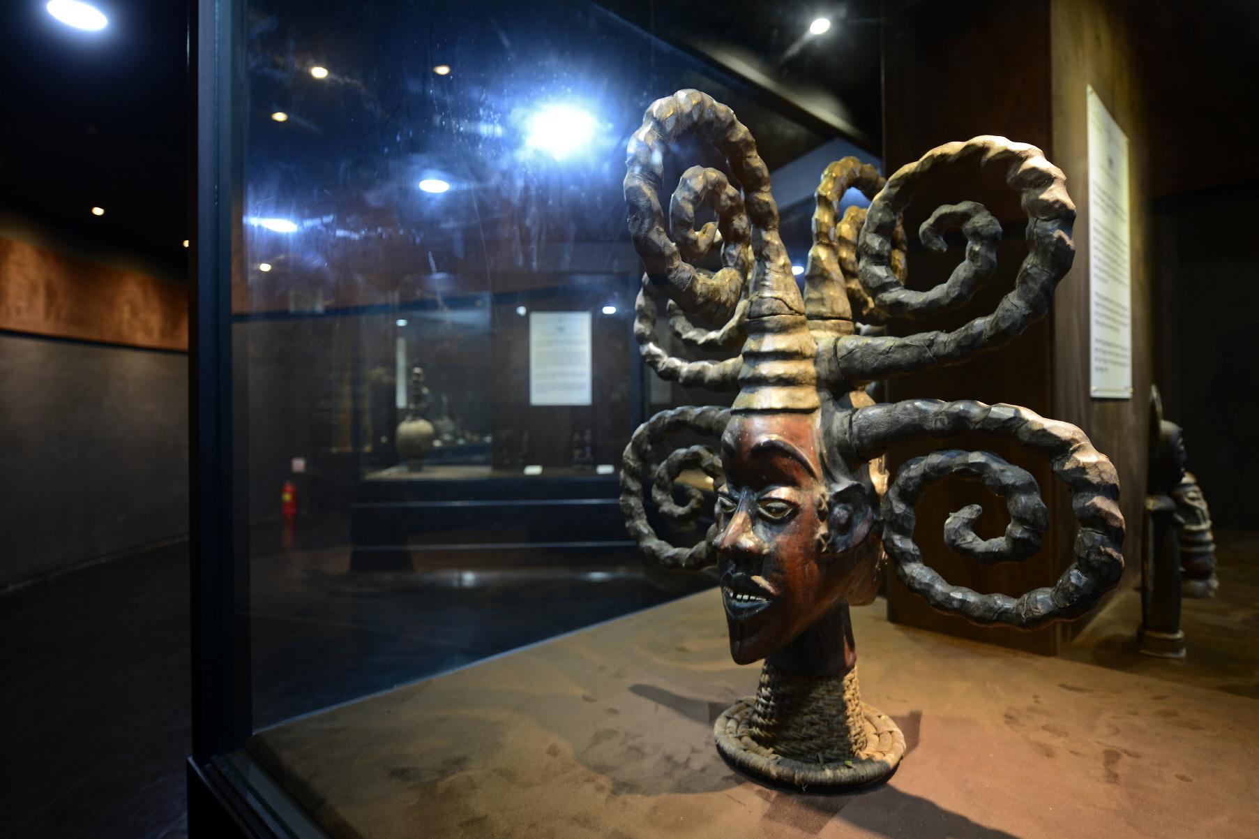 아프리카예술박물관 문화재 사진