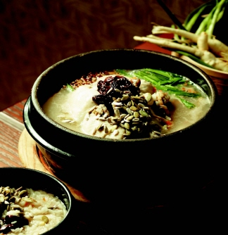 성남 남한산성 닭죽, 닭도가니탕