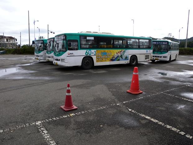 60-3번 버스의 모습