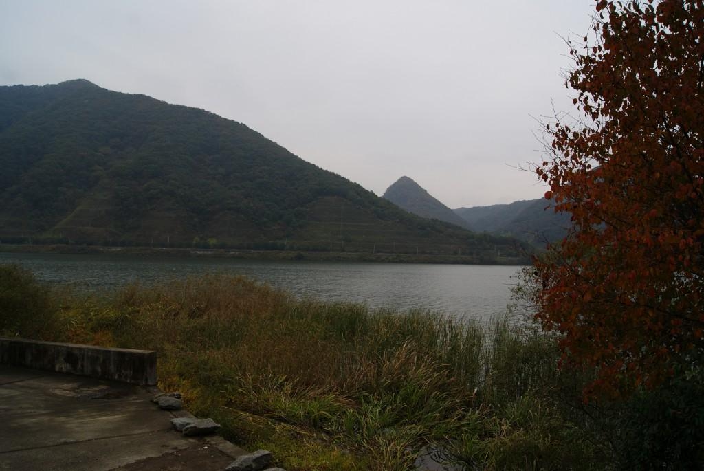 호수의 모습