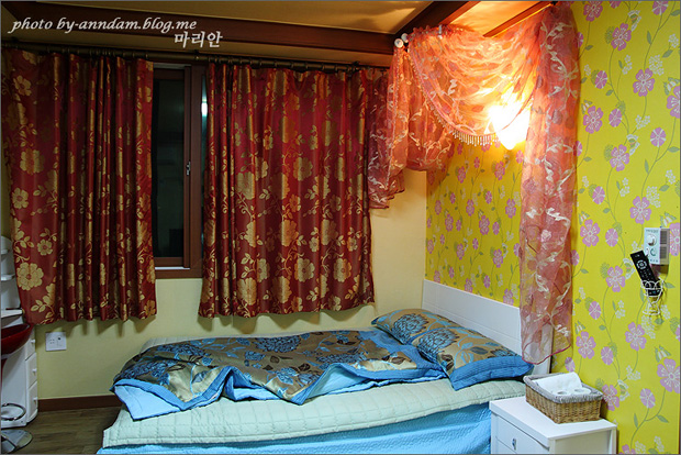 침실 내부의 모습