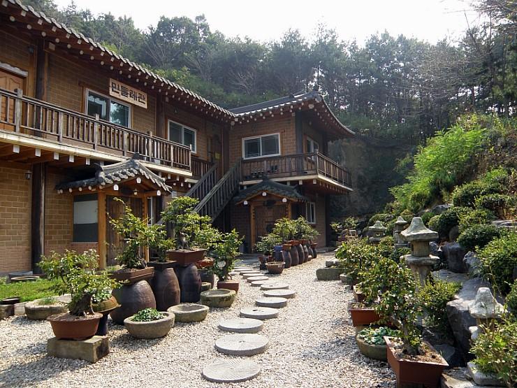정원의 모습
