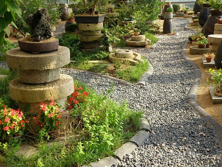 온실식물원의 모습