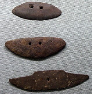 돌로 만든 옛 농기구