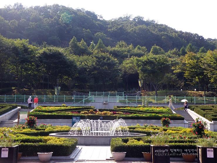 신구대학식물원의 모습