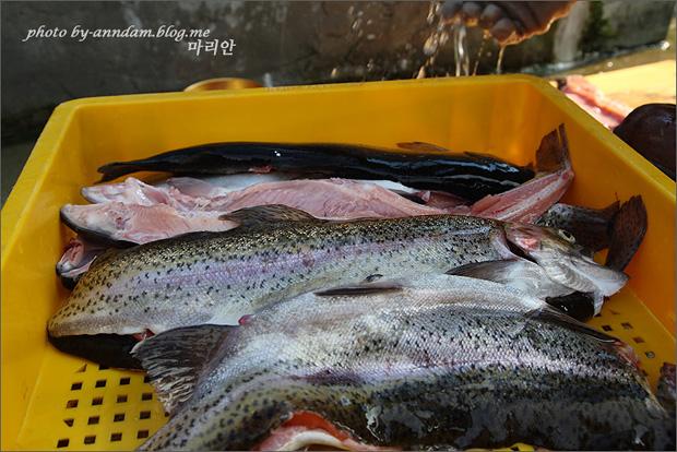 손질 된 생선