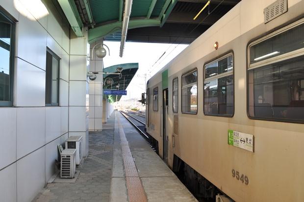 열차의 모습