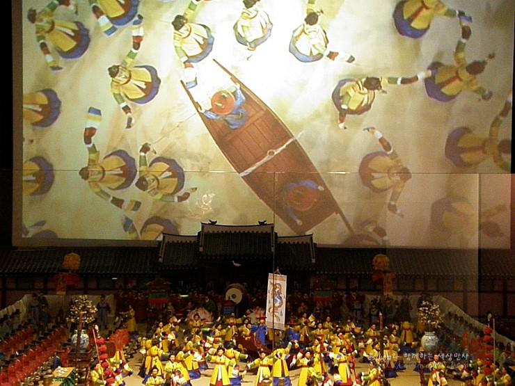 혜경궁 홍씨의 회갑연 모형