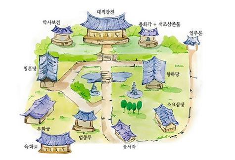수원 봉녕사의 그림지도
