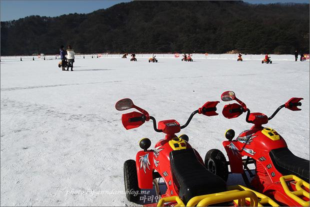 ATV체험장의 모습