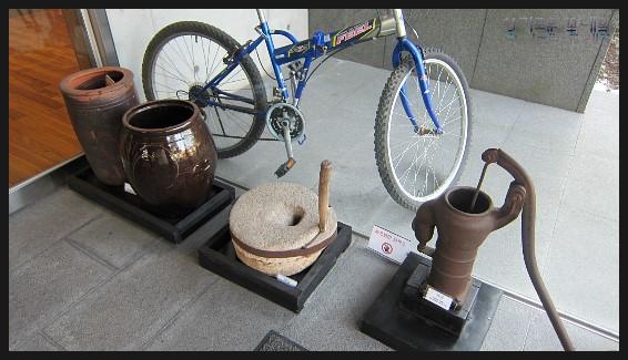 옛 생활도구들의 모습