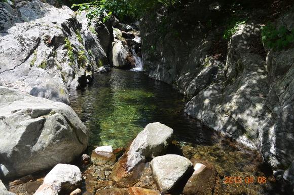맑은 물의 계곡