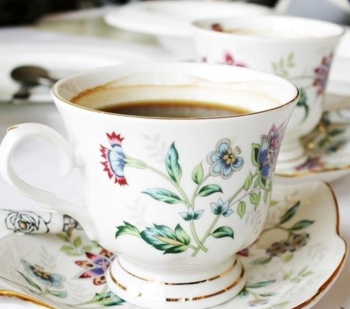 커피잔에 담긴 커피