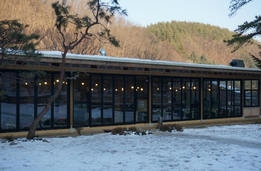 횡성한우전문점 식당의 외관 모습