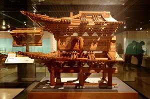 숭례문 모형의 모습