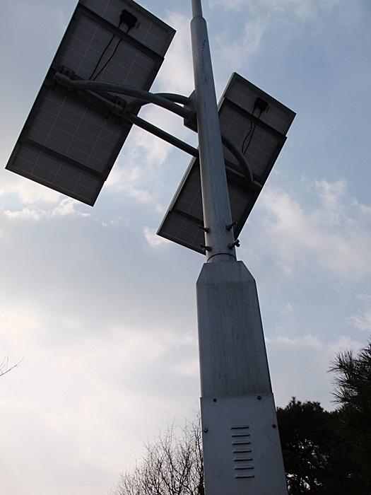 태양열 광판의 모습