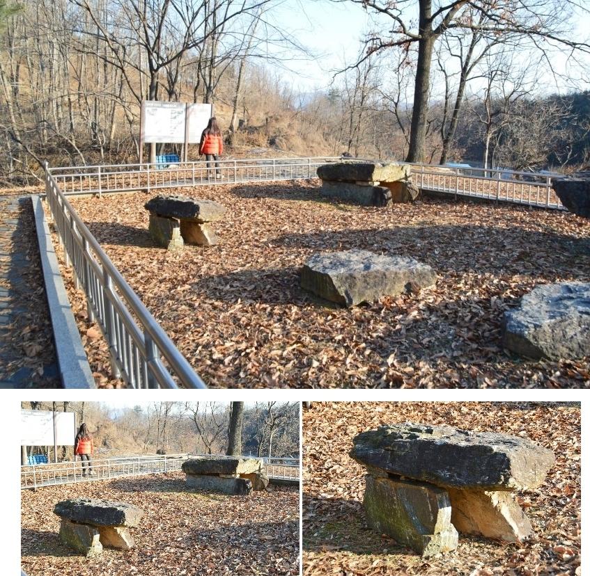 북방식 탁자식 고인돌의 여러 모습
