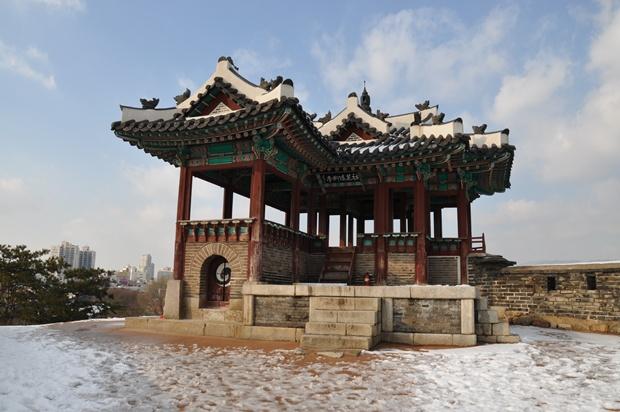 방화수류정(동북각루)