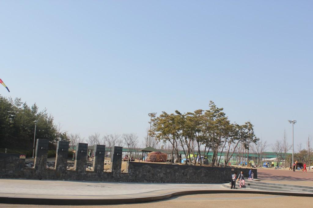 김포 걸포공원의 모습