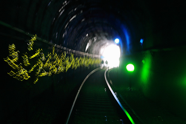 터널 내부의 모습