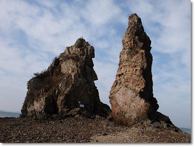 두개의 큰 돌
