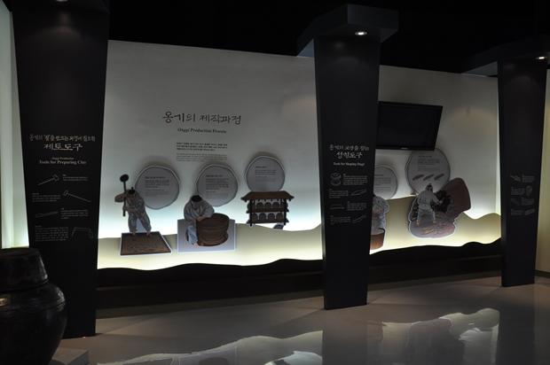 옹기의 제작과정