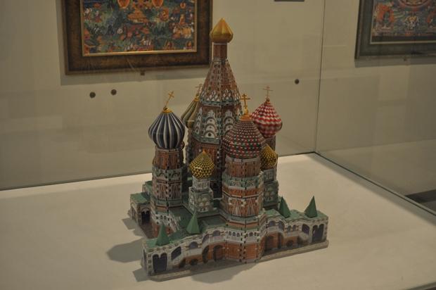 퍼즐로 만든 성 바실리 대성당