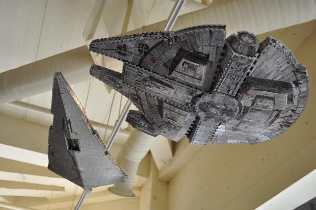 스타워즈에 등장한 우주선 퍼즐