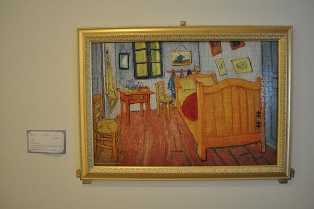 반고흐의 그림중 예술가의 방을 표현한 퍼즐작품