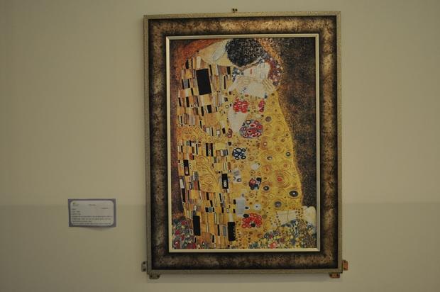 클림트의 작품중 키스를 표현한 퍼즐 작품