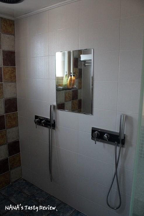 욕실의 모습