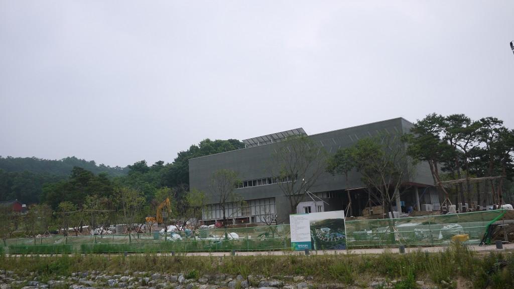 광교역사박물관의 외관