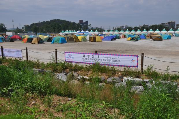 캠핑장의 모습
