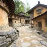 고구려대장간 마을의 골목 풍경