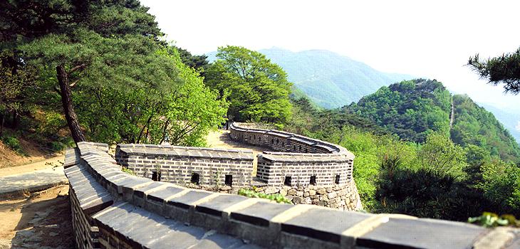 남한산성  성곽길