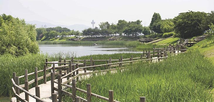 구리 둘레길-장자호수공원