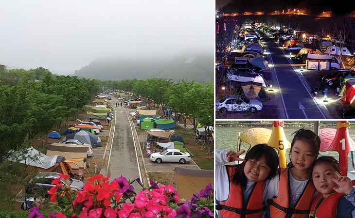 한탄강 오토캠핑장1