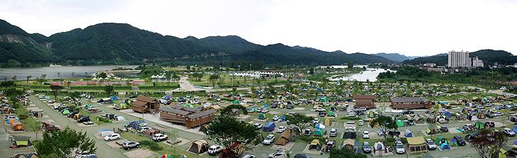 한탄강 오토캠핑장2