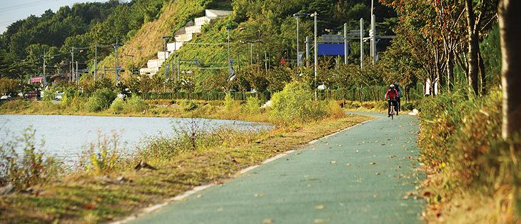 시흥 자전거 길 그린웨이2