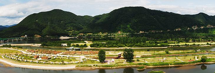 자라섬 오토캠핑장1