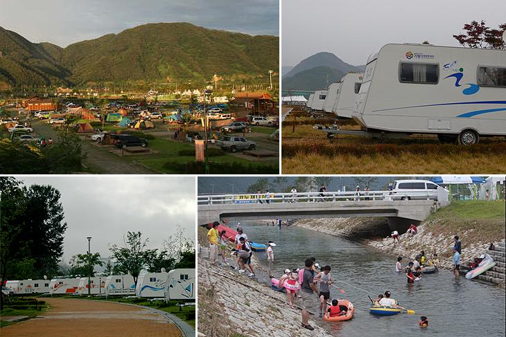 자라섬 오토캠핑장2