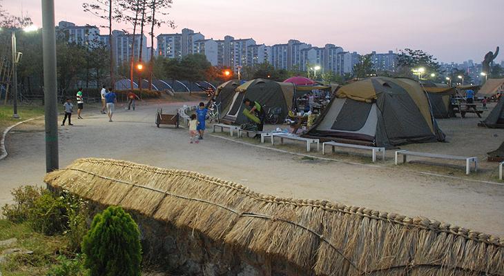 야인시대캠핑장(문화동산)3