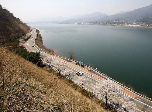 북한강 드라이브길