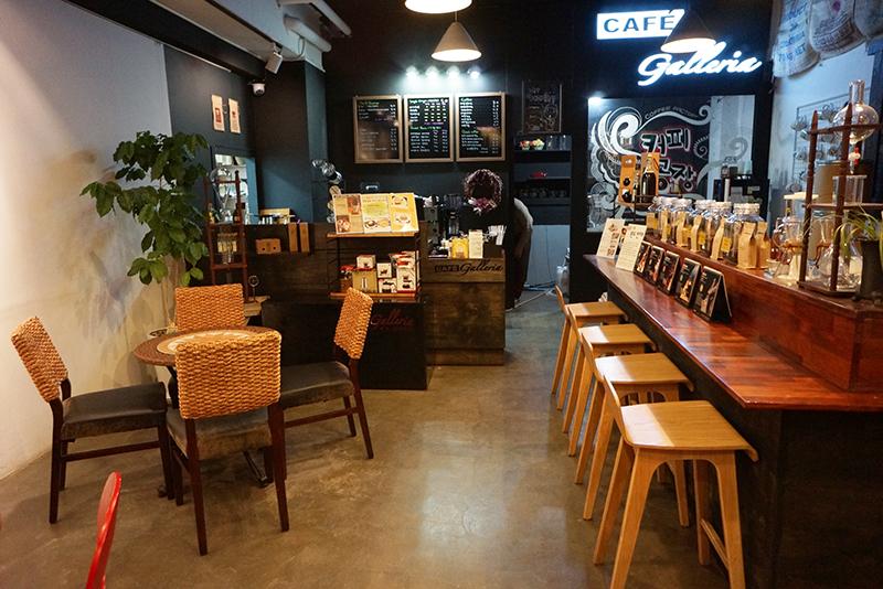 카페 갤러리아 내부 모습