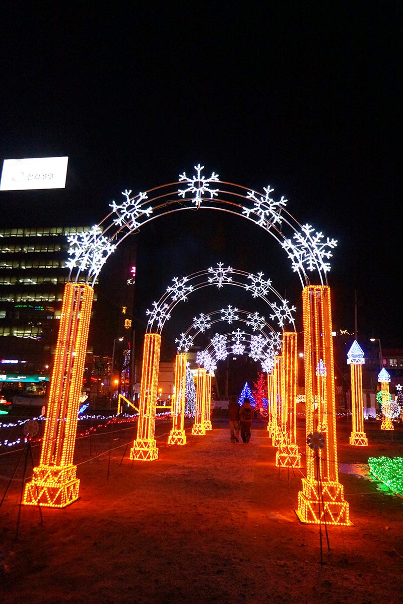 의정부 빛 축제 전경