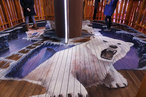 트리하우스 바닥 그림
