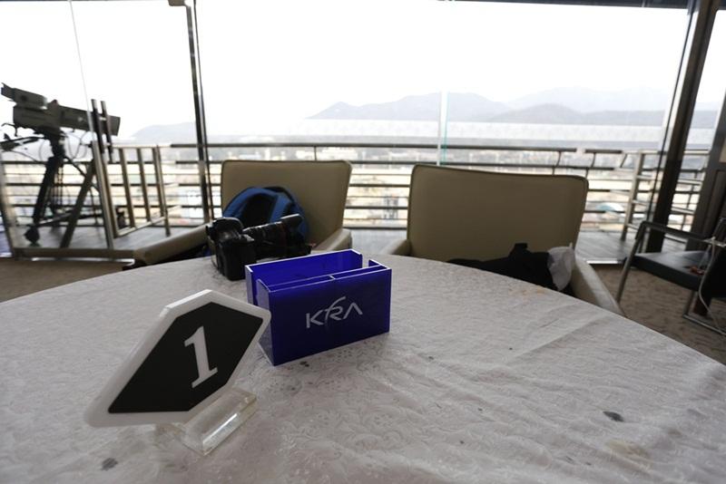 경마공원VIP룸 테이블