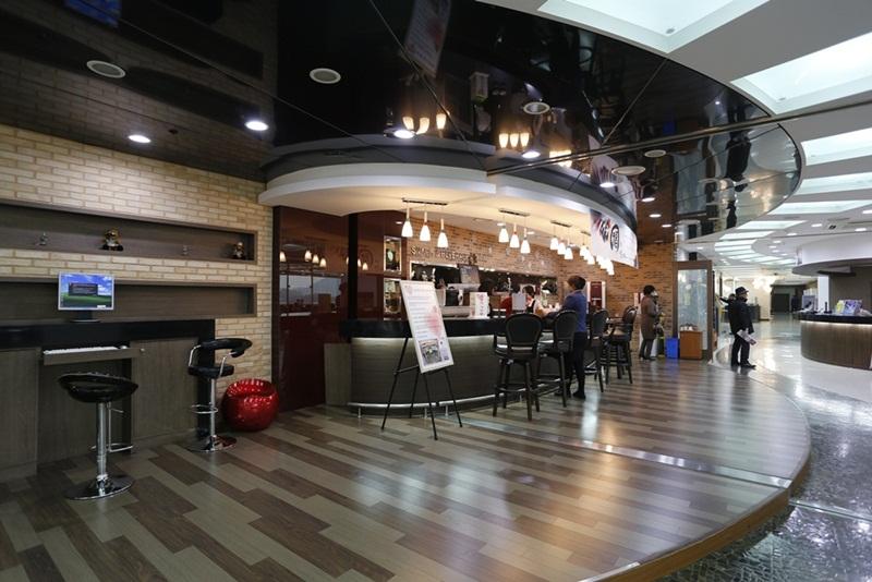 경마공원VIP 타워의 카페