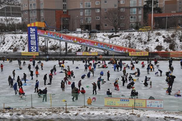 청평 눈썰매 송어빙어축제